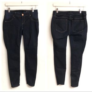 GAP Maternity True Skinny Jeans Dark Rinse Size 0